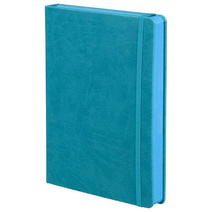 Ежедневник недатированный Factor, размер 15х21 см (формат A5), цвет бирюзовый