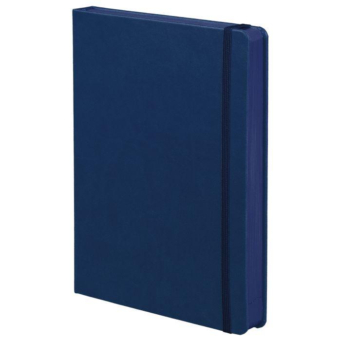 Ежедневник недатированный Factor, размер 15х21 см (формат A5), цвет синий