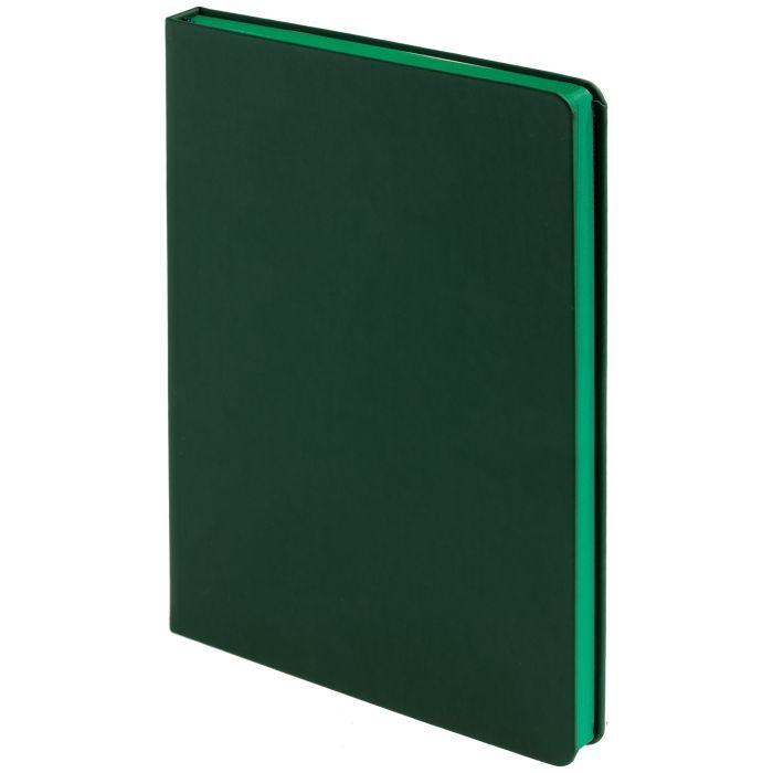 Ежедневник недатированный Shall, размер 15х21 см (формат A5), цвет зелёный
