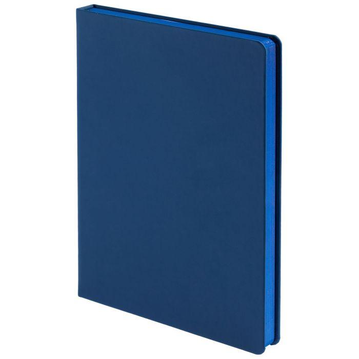 Ежедневник недатированный Shall, размер 15х21 см (формат A5), цвет синий