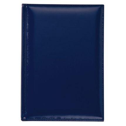 Ежедневник полудатированный модель LUXE, материал Luxe, натуральная кожа, размер 15х21 см (формат A5), цвет синий
