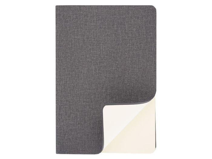 Ежедневник Flexy, полудатированный, А5, в гибкой обложке Cambric, серый