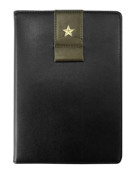 Ежедневник датированный 2021  Infolio USSR цвет черный, мягкая суперобложка, размер А5