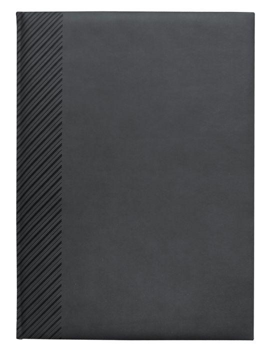 Ежедневник датированный 2021Infolio Velure серый, обложка твердая с поролоном , размер А5