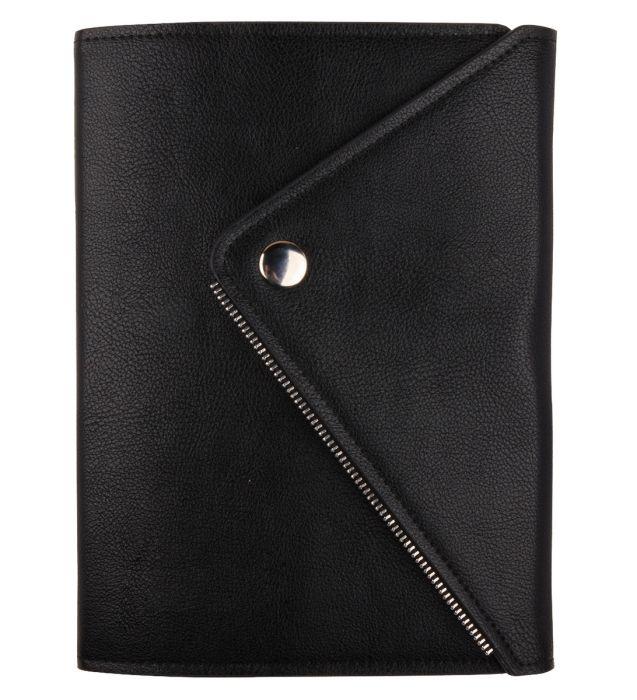 Ежедневник датированный 2021 Infolio Grunge черный, мягкая суперобложка, размер А5