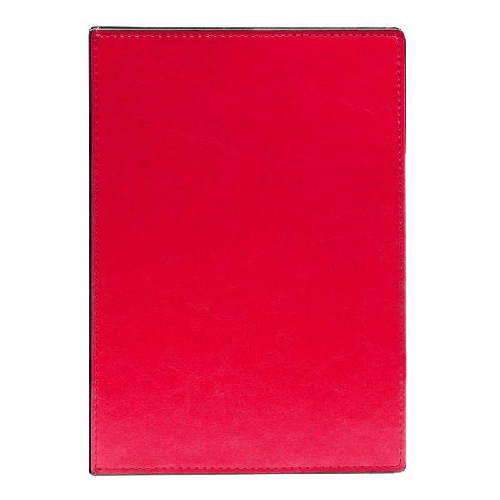 Ежедневник датированный  Infolio  2021 Barcelona красный, жёсткая суперобложка, размер А5