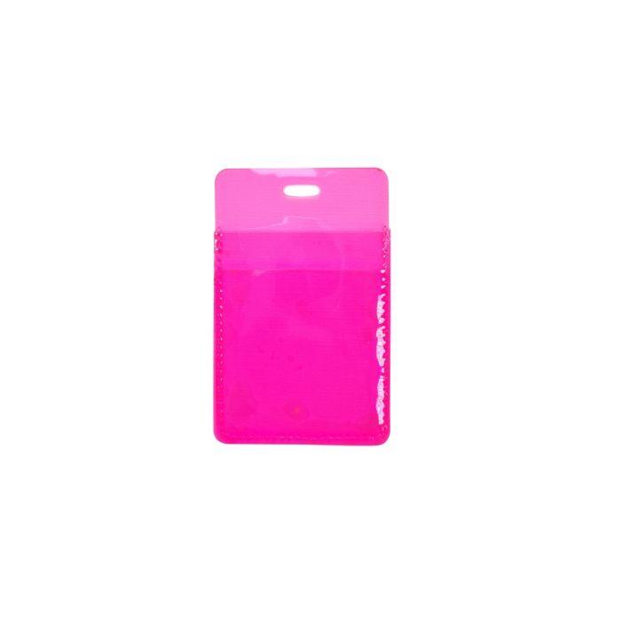 Обложка для проездного билета Neon розовый
