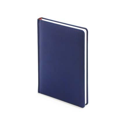 Ежедневник датированный VELVET (АР), формат A5, белая бумага, цвет темно-синий