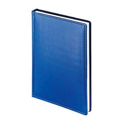 Ежедневник недатированный VELVET (АР), формат A5, белая бумага, цвет синий