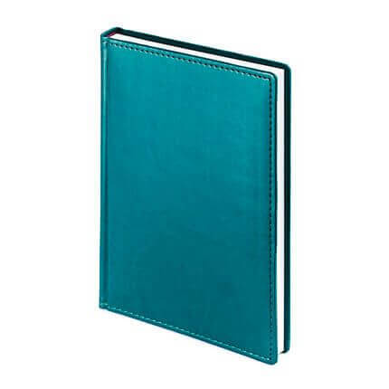 Ежедневник недатированный VELVET (АР), формат A5, белая бумага, цвет морская волна