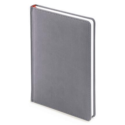 Ежедневник недатированный VELVET (АР), формат A5, белая бумага, цвет светло-серый