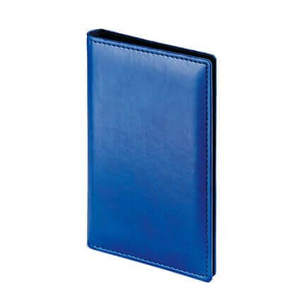 Визитница VELVET (АР), на 72 визитки, цвет синий