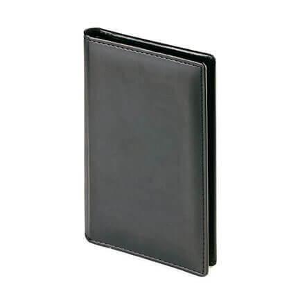 Визитница VELVET (АР), на 72 визитки, цвет черный