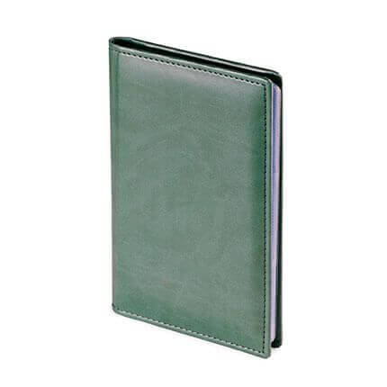 Визитница VELVET (АР), на 72 визитки, цвет зеленый