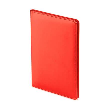 Визитница VELVET (АР), на 72 визитки, цвет красный