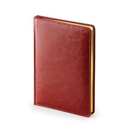 Ежедневник датированный SIDNEY NEBRASKA (АР), формат A5, белая бумага, золотой обрез, цвет черный