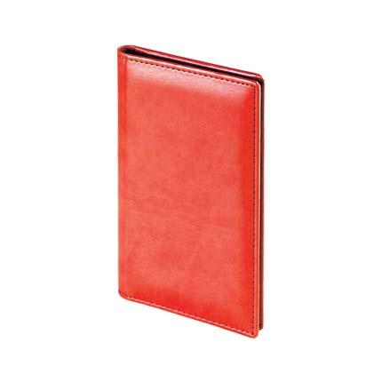 Визитница SIDNEY NEBRASKA (АР), на 72 визитки, цвет красный