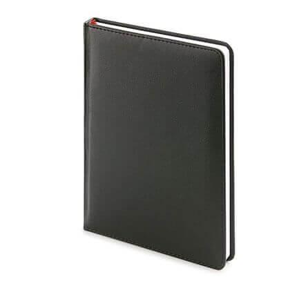 Ежедневник датированный LEADER (АР), формат A5, белая бумага, цвет черный