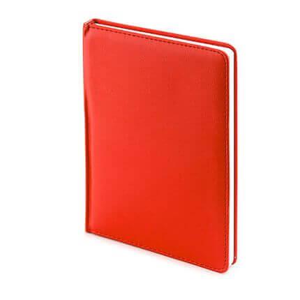 Ежедневник датированный LEADER (АР), формат A5, белая бумага, цвет красный