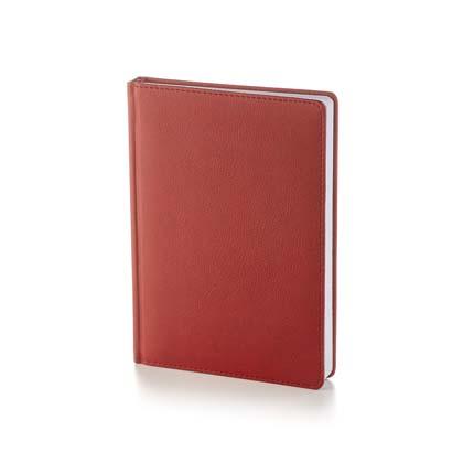 Ежедневник датированный LEADER (АР), формат A5, белая бумага, цвет бордовый