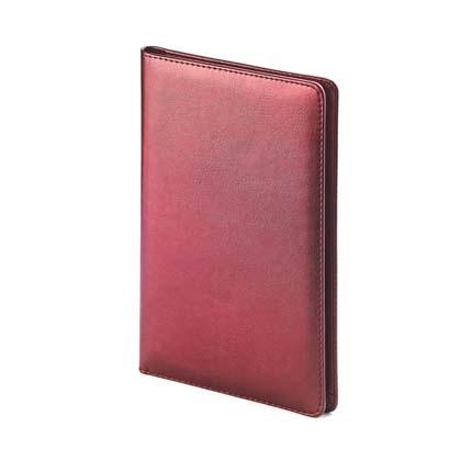 Визитница LEADER (АР), на 72 визитки, цвет бордовый