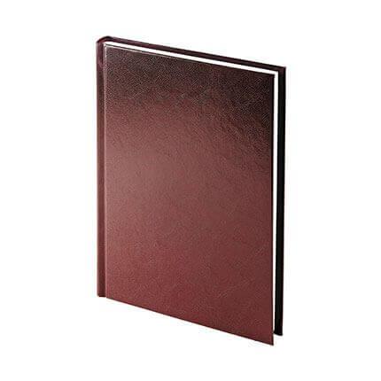Ежедневник недатированный IDEAL NEW (АР), формат A5, белая бумага, цвет бордовый