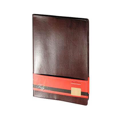Еженедельник недатированный PROFY (АР), формат A4, обрез золото, бежевая бумага, цвет коричневый