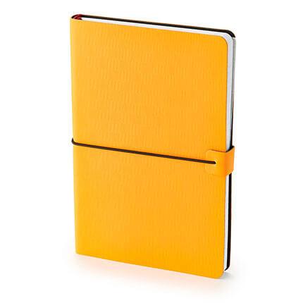 Ежедневник недатированный BRAVO (АР), формат A5, белая бумага, цвет оранжевый