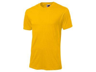 """Футболка """"Super club"""" мужская, цвет золотисто-жёлтый, размер XL"""