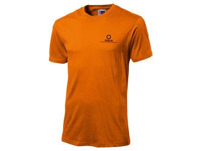 """Футболка """"Super club"""" мужская, цвет оранжевый, размер L"""