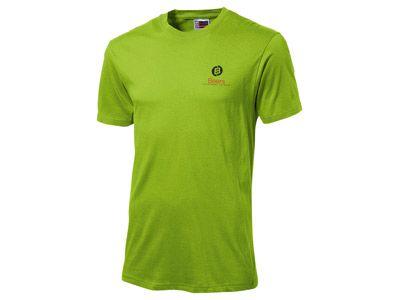 "Футболка ""Super club"" мужская, цвет зелёное яблоко, размер XL"