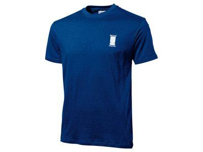 """Футболка мужская """"Heavy Super Club"""", цвет классический синий, размер M"""