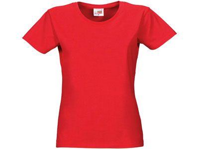 "Футболка женская ""Heavy Super Club"", цвет красный, размер XL"