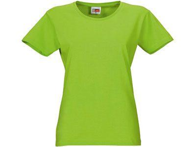 """Футболка женская """"Heavy Super Club"""", цвет зелёное яблоко, размер L"""