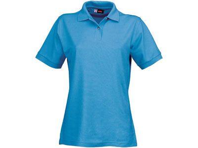 """Рубашка поло """"Boston"""" женская, цвет голубой лёд, размер L"""