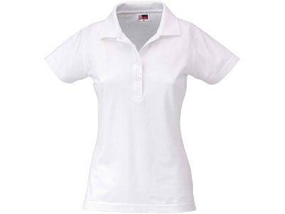 """Рубашка поло """"First"""" женская, цвет белый, размер XL"""