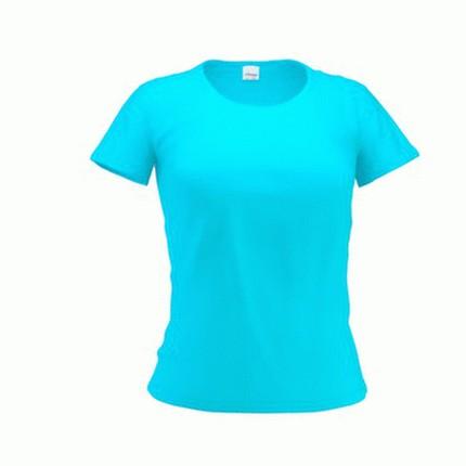 Футболка женская 37W Slim Woman, цвет бирюзовый, размер M