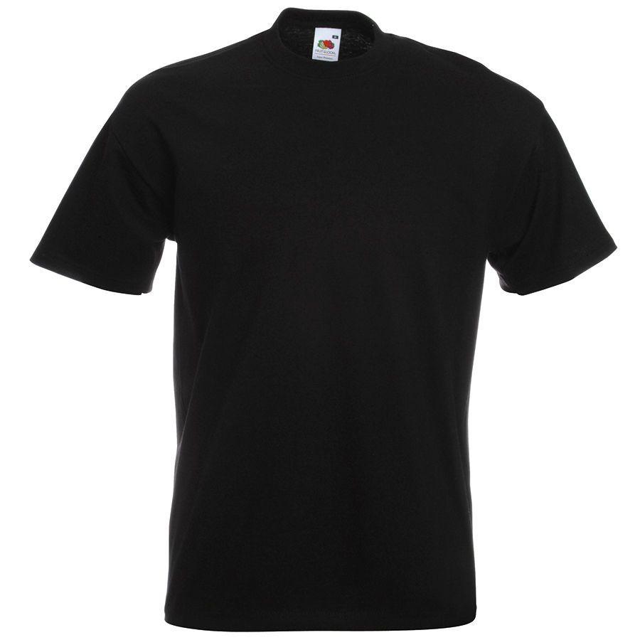 """Футболка мужская """"Super Premium T"""", цвет чёрный, размер M"""