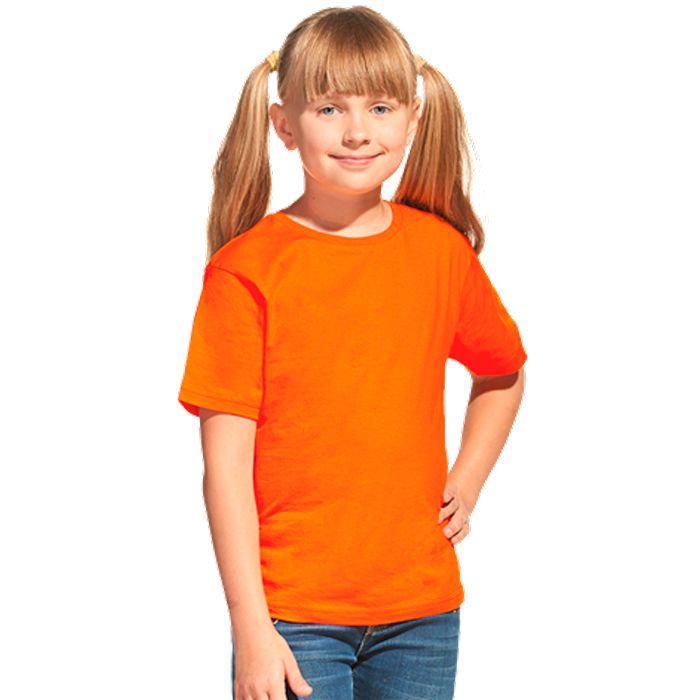 Футболка детская 06U Class, цвет оранжевый, размер 10 лет
