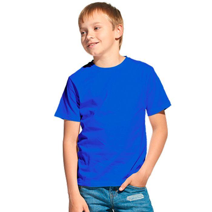 Футболка детская 06U Class, цвет синий, размер 10 лет
