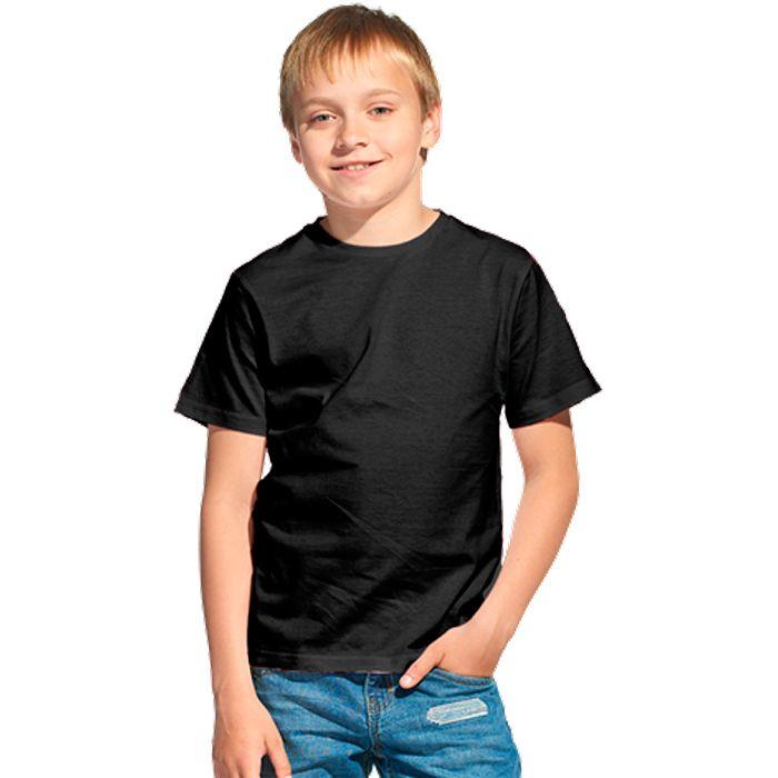 Футболка детская 06U Class, цвет чёрный, размер 12 лет