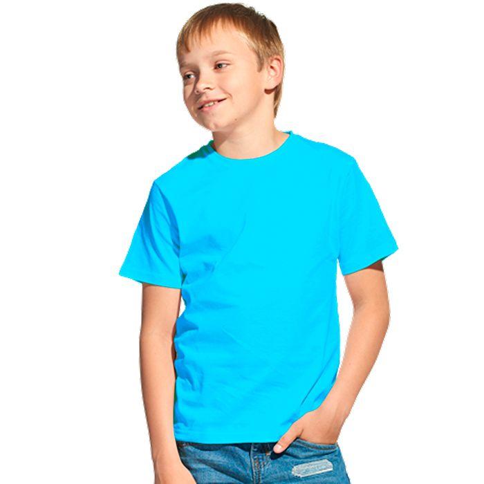 Футболка детская 06U Class, цвет бирюзовый, размер 10 лет