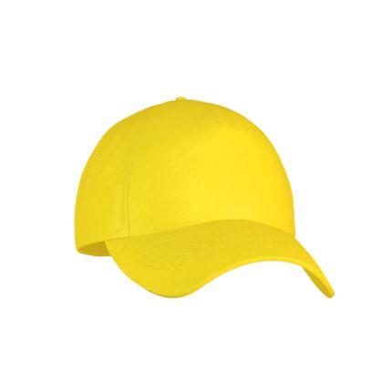 Бейсболка детская Classic Junior (10J), цвет жёлтый