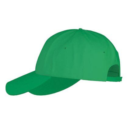 Бейсболка детская Classic Junior (10J), цвет зелёный