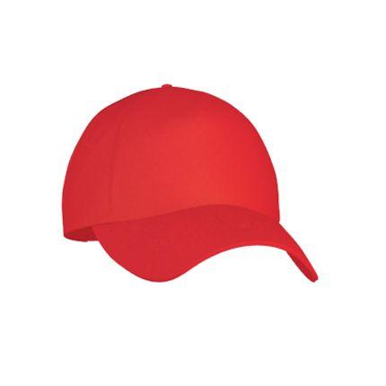 Бейсболка Classic L (10L), цвет красный