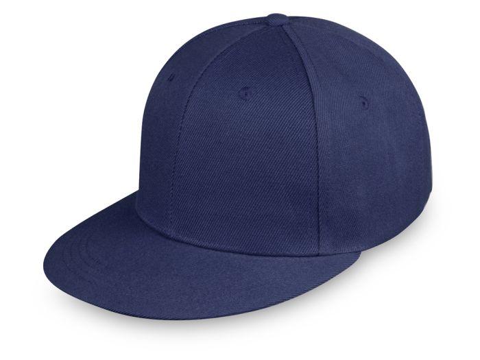 """Бейсболка с прямым козырьком """"Los Angeles"""", синяя"""