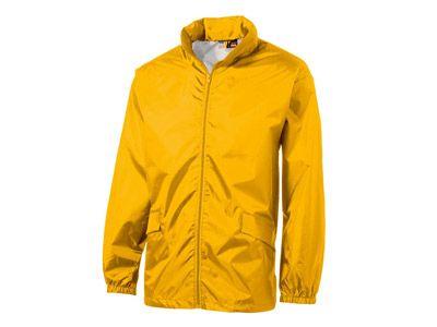 """Ветровка """"Miami"""" мужская с чехлом, цвет золотисто-жёлтый, размер XL"""