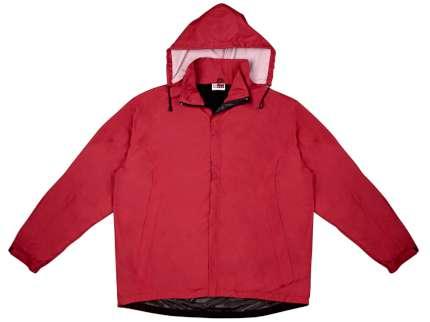 """Ветровка мужская с капюшоном """"Wind"""", цвет красный, размер S"""
