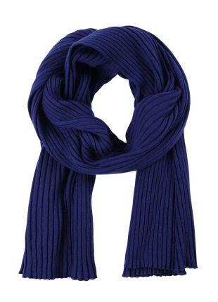 Палантин Mono, темно-синий