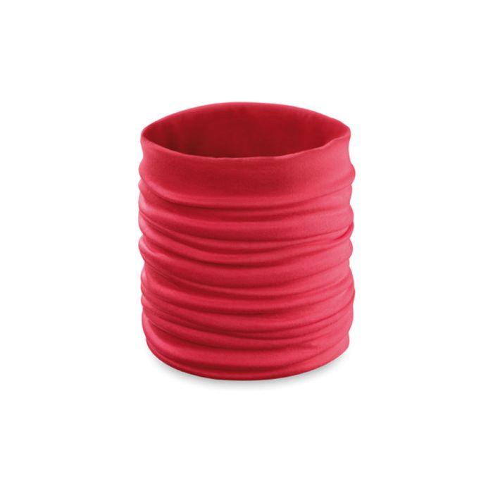 """Шарф """"Happy Tube"""", универсальный размер, красный"""